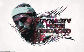 Picture Figure, White, Basketball, Background, LeBron James, Player