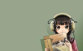 Picture girl, kawaii, music