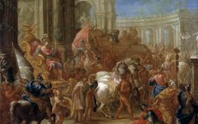 Picture picture, genre, The Triumph Of Caesar, Charles Lebrun