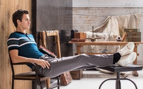 Picture photoshoot, Ansel Elgort, Town & Country, Ansel Elgort
