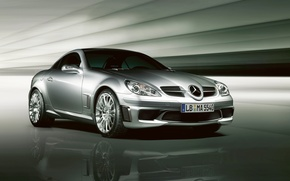 Picture easy, Mercedes-Benz, car, AMG, sports, Special Edition, SLK-55, two-door, compact