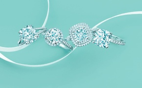 Picture Tuffany &Co, style, diamond, decoration, ring