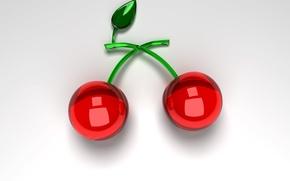 Wallpaper Glass, Cherry