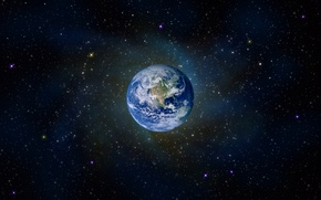 Picture stars, the universe, Earth