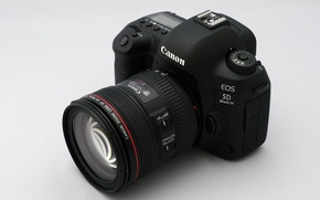 Picture camera, lens, EOS 5D Mark IV, Canon