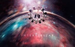 Picture space, sci-fi, movie, ship, adventure, 2014, Christopher Nolan, interstellar