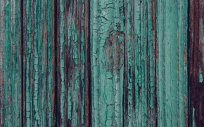 Picture old, cracked, tree, Board, paint, texture, wood, turquoise, wooden, texture
