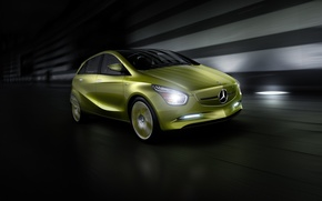 Picture concept, hatchback, Mercedes-Benz
