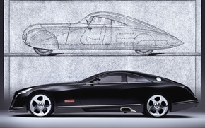 Picture machine, maybach, exelero