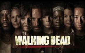 Picture Maggie, Maggie, the series, Carl, The Walking Dead, The walking dead, Michonne, Rick, Carl, Glenn, …