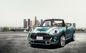 Wallpaper Cooper, Cabrio, convertible, mini, F57, Mini, Cooper