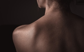 Picture girl, macro, pose, body, back, line, photographer, bending, girl, photography, neck, photographer, nude, worn9