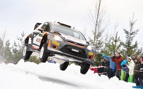 Picture Ford, Jump, WRC, Rally, Fiesta, Kubica
