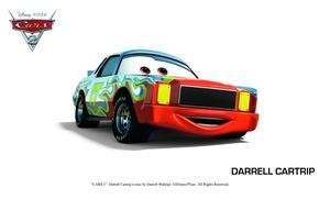 Picture pixar, cars, cars 2, cars 2, darrell cartrip
