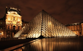 Picture night, Paris, Museum, France, the Louvre