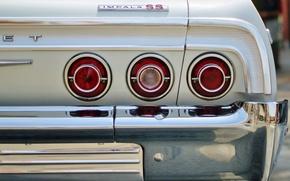 Picture machine, lights, Chevrolet impala