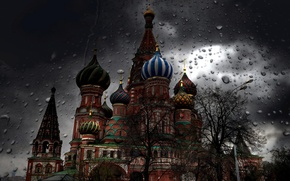 Picture drops, spring, Moscow, the Kremlin, ᔕᑭᖇIᑎG