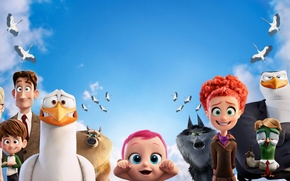Picture Fantasy, Jennifer Aniston, Wolves, Birds, Hunter, Baby, Girls, Family, Boy, EXCLUSIVE, Animation, Tulip, Man, Animals, …