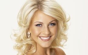 Picture face, smile, blonde, singer, dancer, Julianne Hough