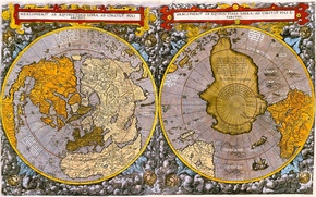 Picture the ocean, earth, the world, map, pole, hemisphere, the continent