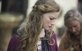 Picture Princess, Vikings, The Vikings, Alyssa Sutherland, Aslaug