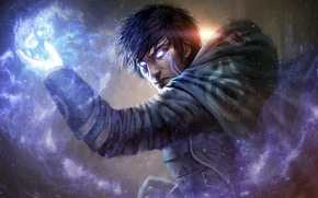 Picture eyes, look, magic, male, guy, Jace, Magic: The Gathering, planeswalker