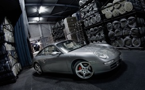 Wallpaper Porsche, Composition, Isover