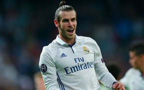 Picture field, smile, football, star, medal, Spain, player, goal, football, player, Real Madrid, Real Madrid, Gareth …