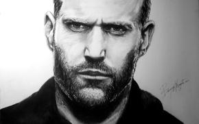 Wallpaper figure, Jason Statham, actor, man, Jason Michael Statham