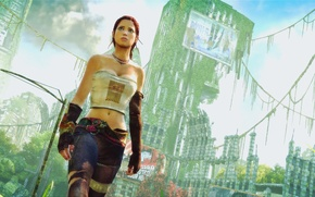 Picture girl, postapokalipsis, Enslaved:Odyssey to the west