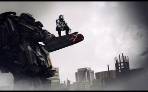 Picture weapons, robot, soldiers, wallpaper, game, Blacklight: Retribution, hardsuit