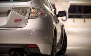 Picture photo, Subaru, Impreza, City, cars, auto, wallpapers auto, Subaru Impreza, Wallpaper HD, Parking, Parking, Sti, …
