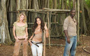 Picture Lost, To stay alive, Michelle Rodriguez, Adewale Akinnuoye-Agbaje, Cynthia Watros