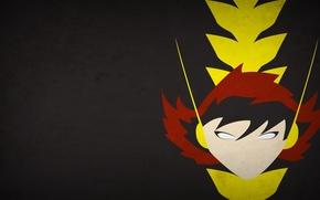Picture minimalism, Marvel Comics, blo0p, Janet van Dyne, The Wasp