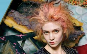 Picture musician, Grimes, canadian singer, Claire Boucher, Grimes