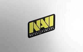 Picture Logo, Game, Team, Minimalism, CSGO, Natus Vincere, Na`Vi, Counter-Strike: Global Offensive, CS:GO, vent designs, Esports