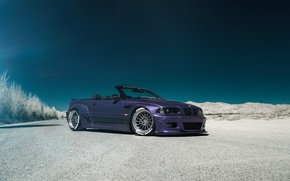 Picture BMW, tuning, cabrio, E46, RSV Forged