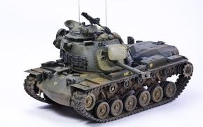 Picture toy, medium tank, model, М48А3, Patton III