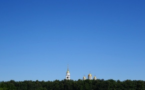 Picture the sky, city, Church, Cathedral, temple, Russia, Vladimir