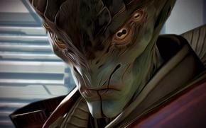 Picture Mass Effect, art, Prothean, Javik