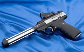 Picture gun, weapons, gun, optical sight, ultra dot lt