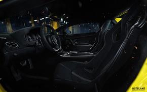 Picture Lamborghini, the wheel, Superleggera, Gallardo, salon, LP 570-4, seat, notbland, Webb Bland