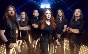 Picture metal, gothic, sympho, Isaac Delahaye, Simone Simons, Coen Janssen, Ariën Van Weesenbeek, Mark Jansen, Epica, …