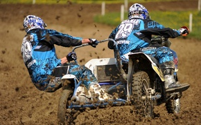 Picture race, sport, Sidecar Racing