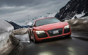 Picture audi, red