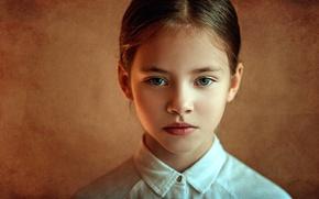 Picture portrait, girl, Kira, George Chernyadev