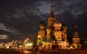 Picture the city, lighting, Moscow