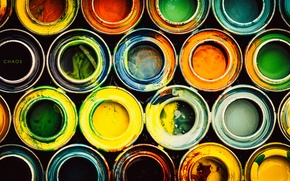 Picture colors, chaos, circles, pattern, colours, paint, stains, stain, dye, dye