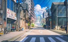 Picture Road, Japan, Street, Visual Novella, love money rocknroll, Soviet Games