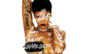 Picture music, actress, album, singer, rihanna, album cover, unapologetic